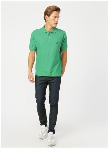 U.S. Polo Assn. U.S. Polo Assn. Slim Fit Erkek Denim Pantolon Yeşil